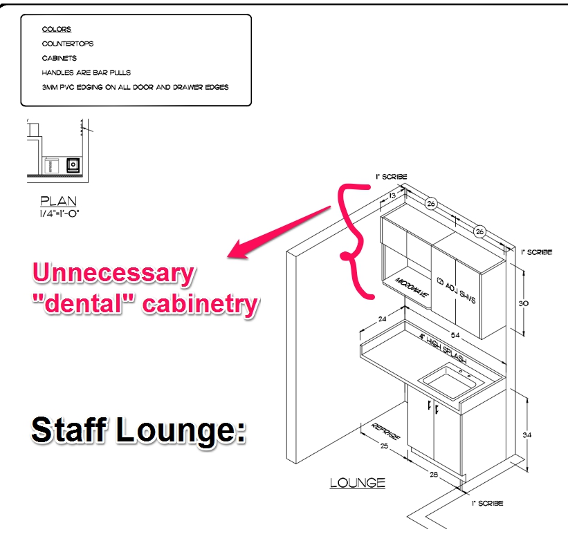 Staff Lounge   Dental Office Floor Plan